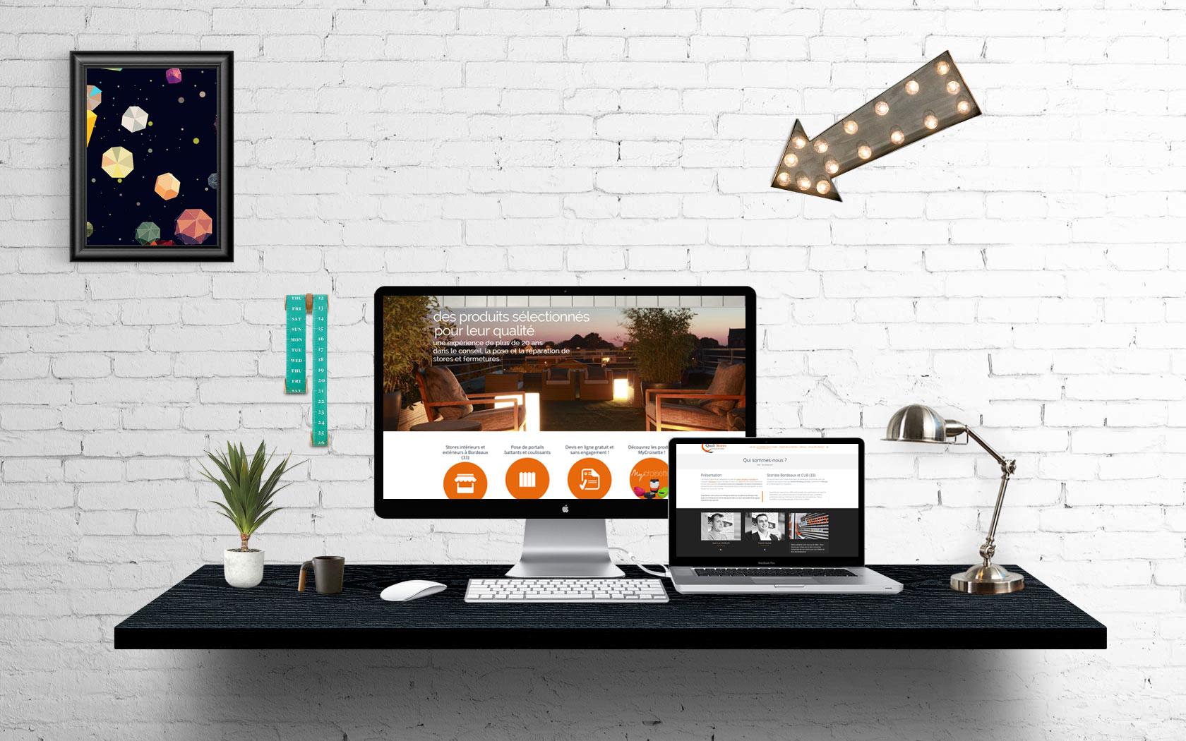 Création du site internet Quali'stores