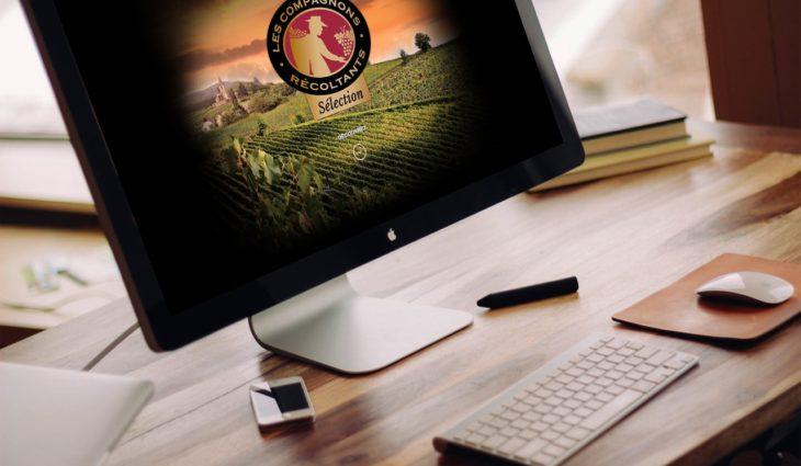Site one-page : Les Compagnons Récoltants