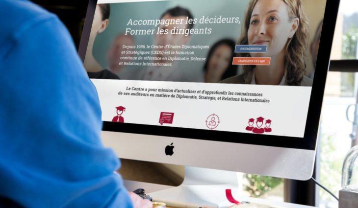 Site internet CEDS : Etudes diplomatiques & stratégiques