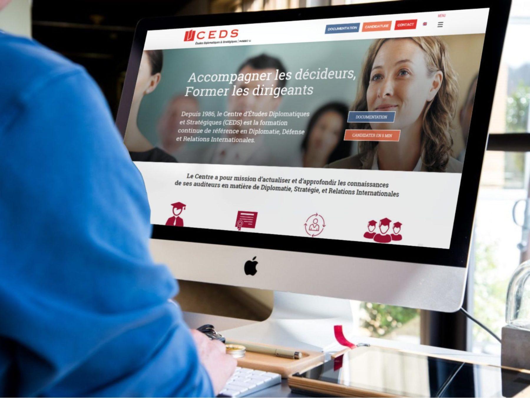 CEDS-ecran Création de site internet à Bordeaux