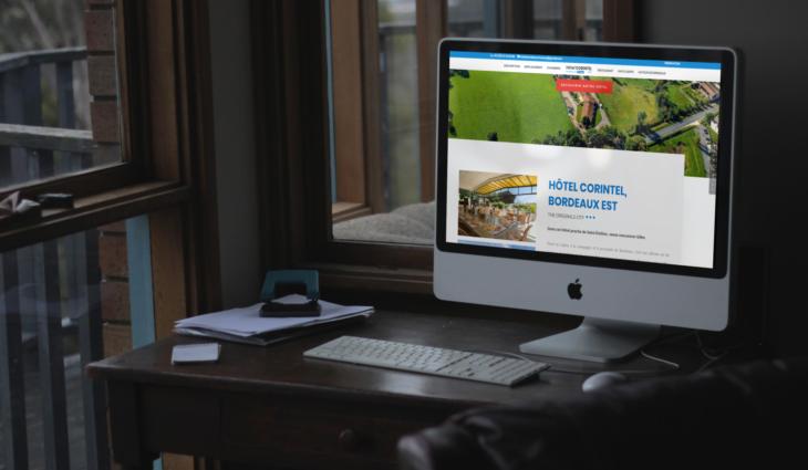 Site WordPress – Hôtel Corintel
